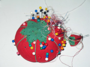 Pin Cushion & Pins