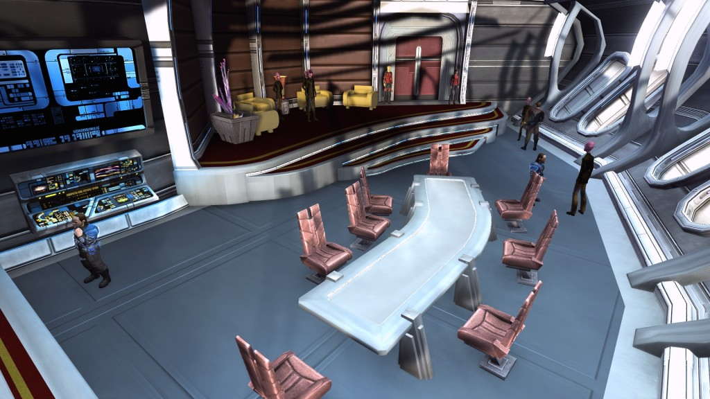 First Contact Mission Conference Room