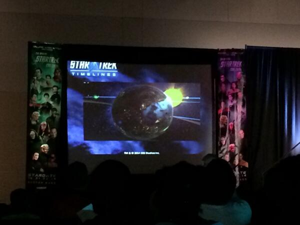 Radoff, Executive Producer Rich Gallup, and Lead Designer Tim Crosby presented the first footage of Timelines' gameplay at Trek Boston.