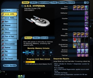 Gardian Cruiser getting trait