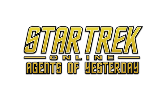The 'Star Trek Online: Agents of Yesterday' logo