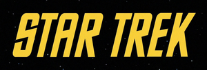 The logo of the original Star Trek series