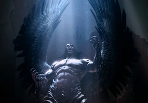 Art of Satan from the game 'Castlevania: Lords of Shadow 2'