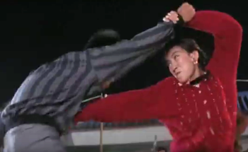 Michelle Yeoh in the movie 'Supercop,' 1992
