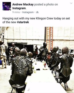 Leaked 'Star Trek Discovery' set photo of apparent Klingons