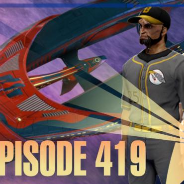 Episode Graphic for 419, Avatars from Star Trek Online