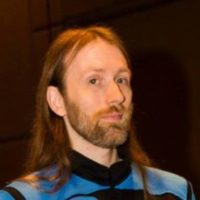 Image of Jayce in his Science Officer Starfleet Uniform