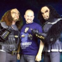 Image of Rand with Gowron and Martok