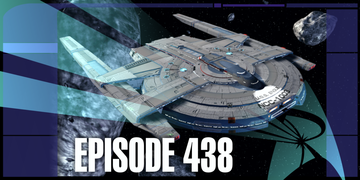 Episode Art featuring the new Earhart Strike Escort from Star Trek Online