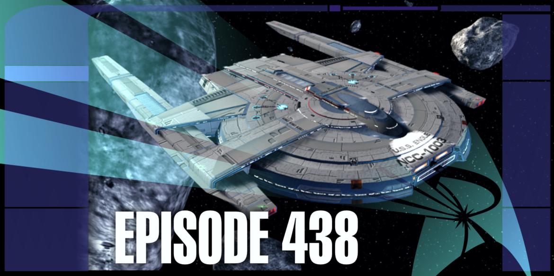 Episode Art featuring the new Earhart Strike Escort from Star Trek Online