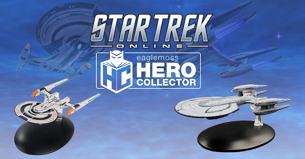 Eaglemoss Star Trek Online Ships