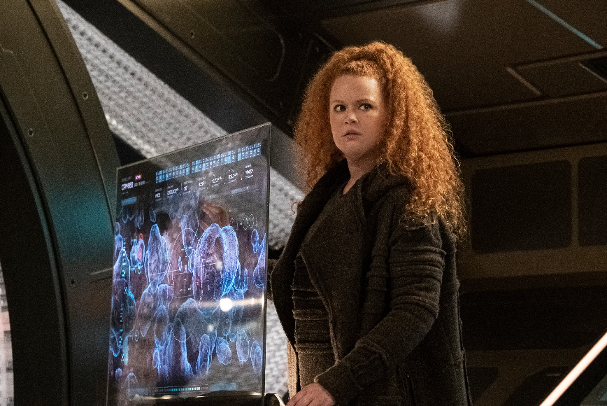 Mary Wiseman, the actress who plays Silvia Tilly on Star Trek Discovery